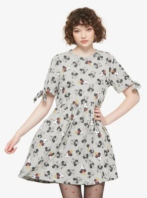Vestido Minnie Mouse Gris