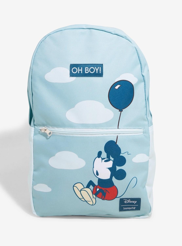 Bolsa Mochila Mickey Azul