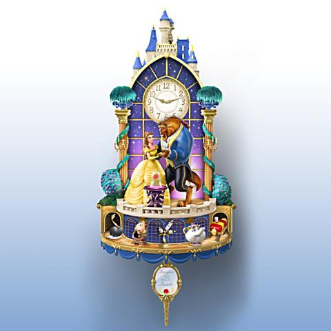 Reloj de Pared Bella y Bestia
