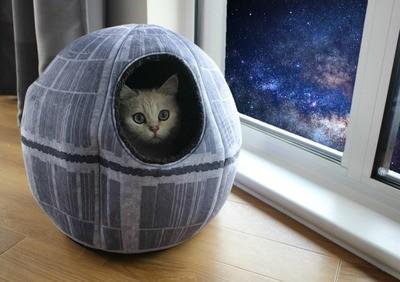 Cama Para Gato Estrella de la Muerte