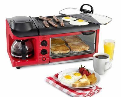 Maquina Desayuno 3 en 1 Retro
