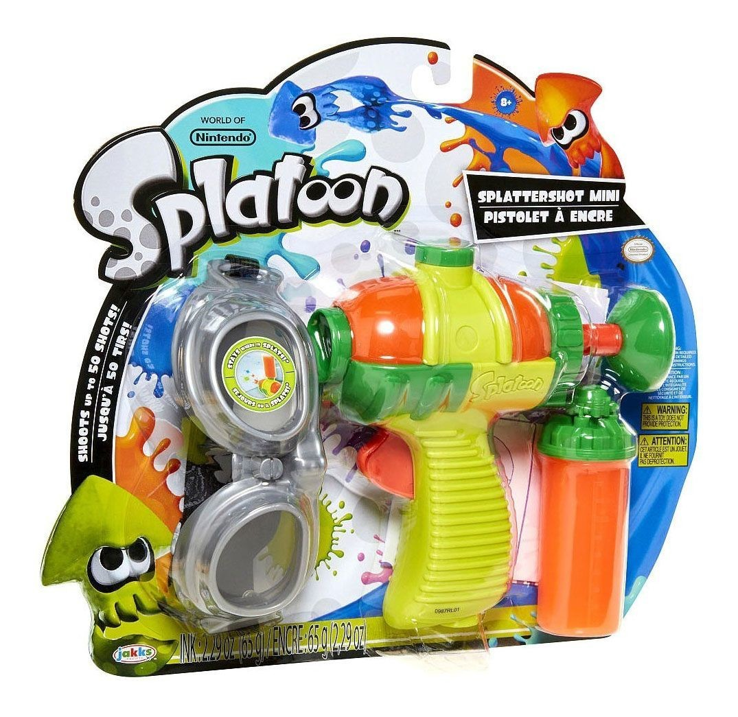 Pistola Splatoon Kawaii
