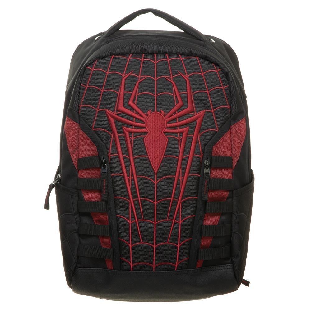 Mochila SpiderMan Roja Negro