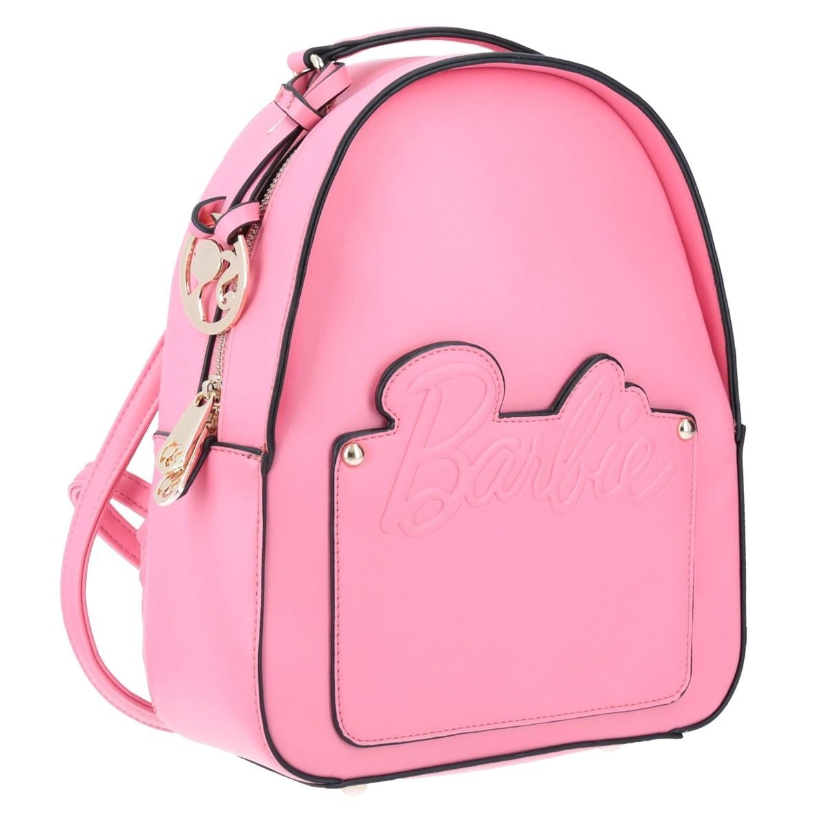 Bolsa Mochila Barbie Rosa D55