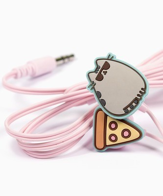 Audifonos Pusheen Pizza