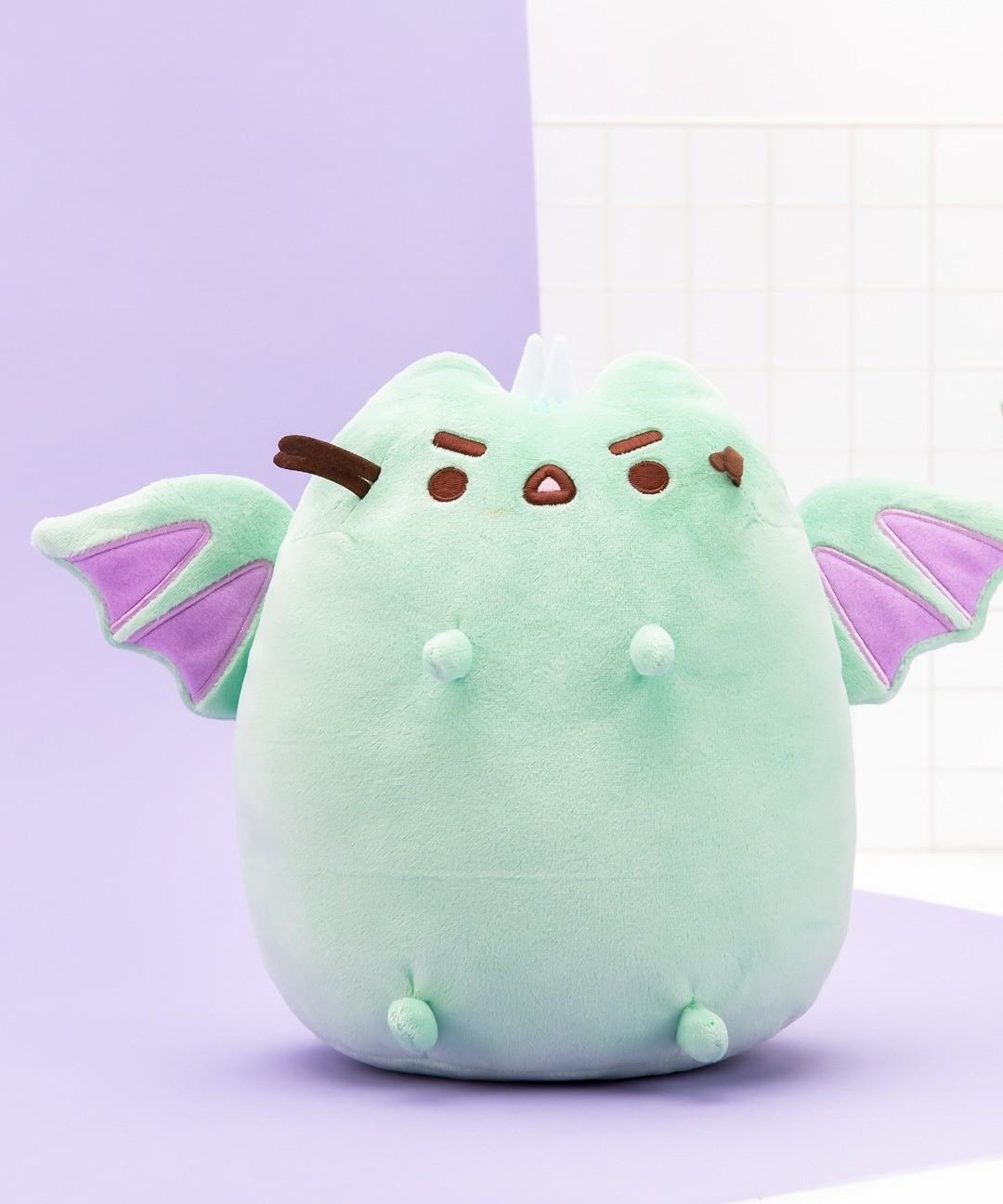 Peluche Pusheen Dragon Verde