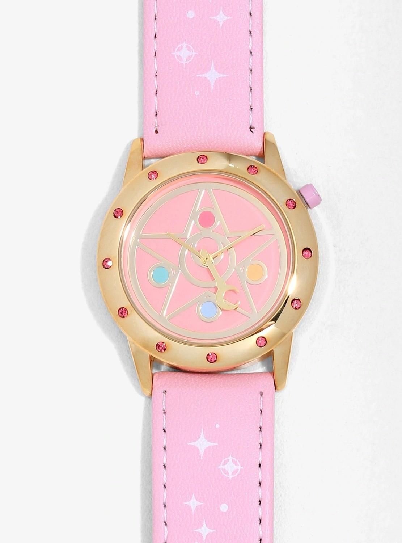 Reloj Sailor Moon Rosa