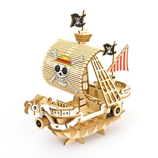 One Piece Barcos Modelos