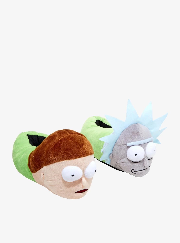 Pantuflas Rick y Morty