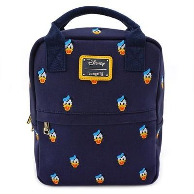 Bolsa Mochila Pato Donald Azul