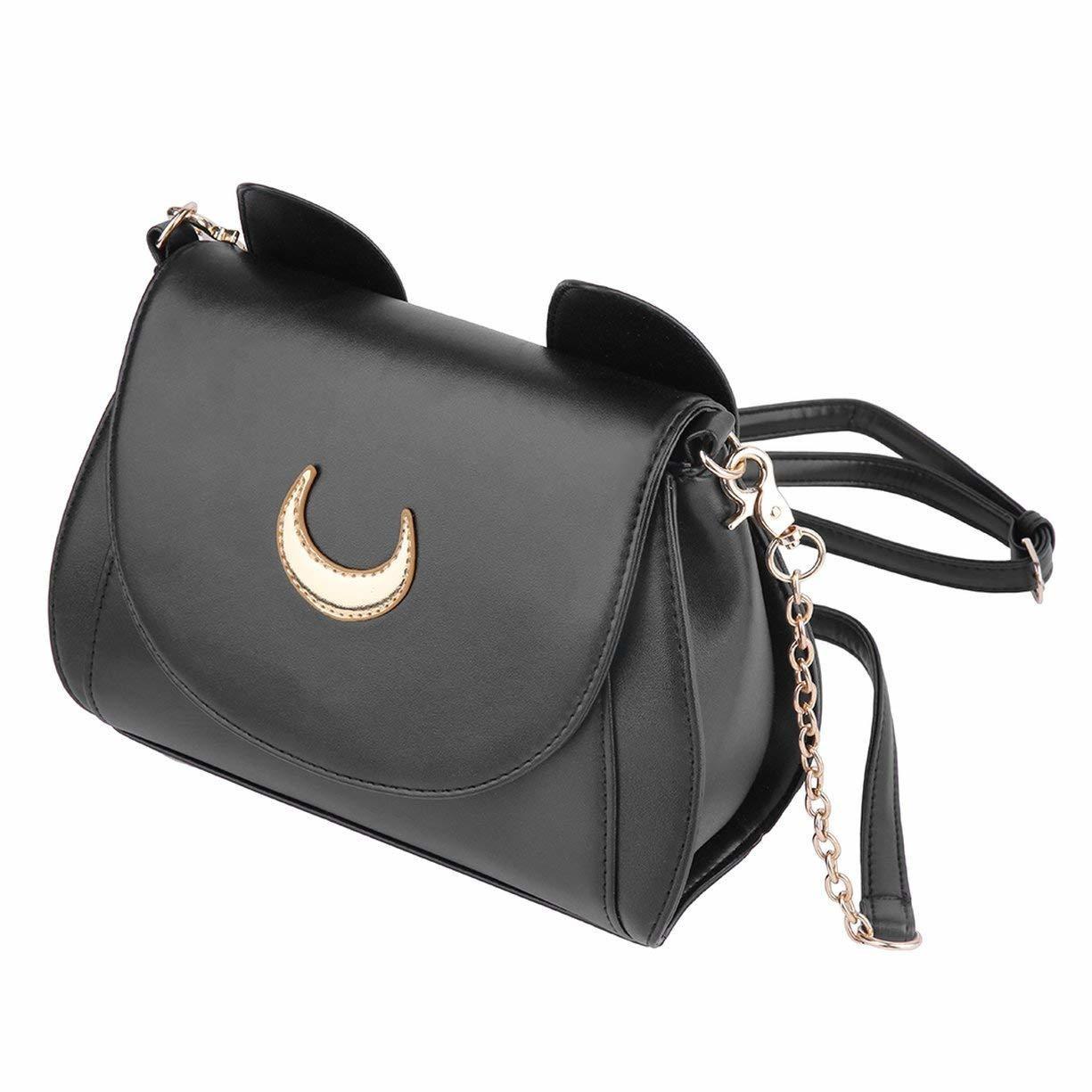 Bolsa Sailor Moon Blanca Negra C00