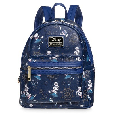 Bolsa Mochila Minnie Azul