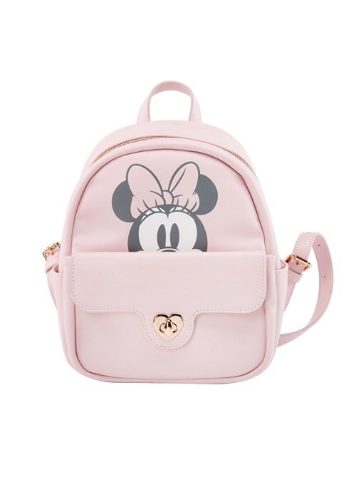 Mochila Minnie Mouse Rosa