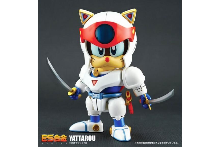 Figura Gatos Samurai Speedy