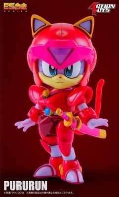 Figura Gatos Samurai Polly
