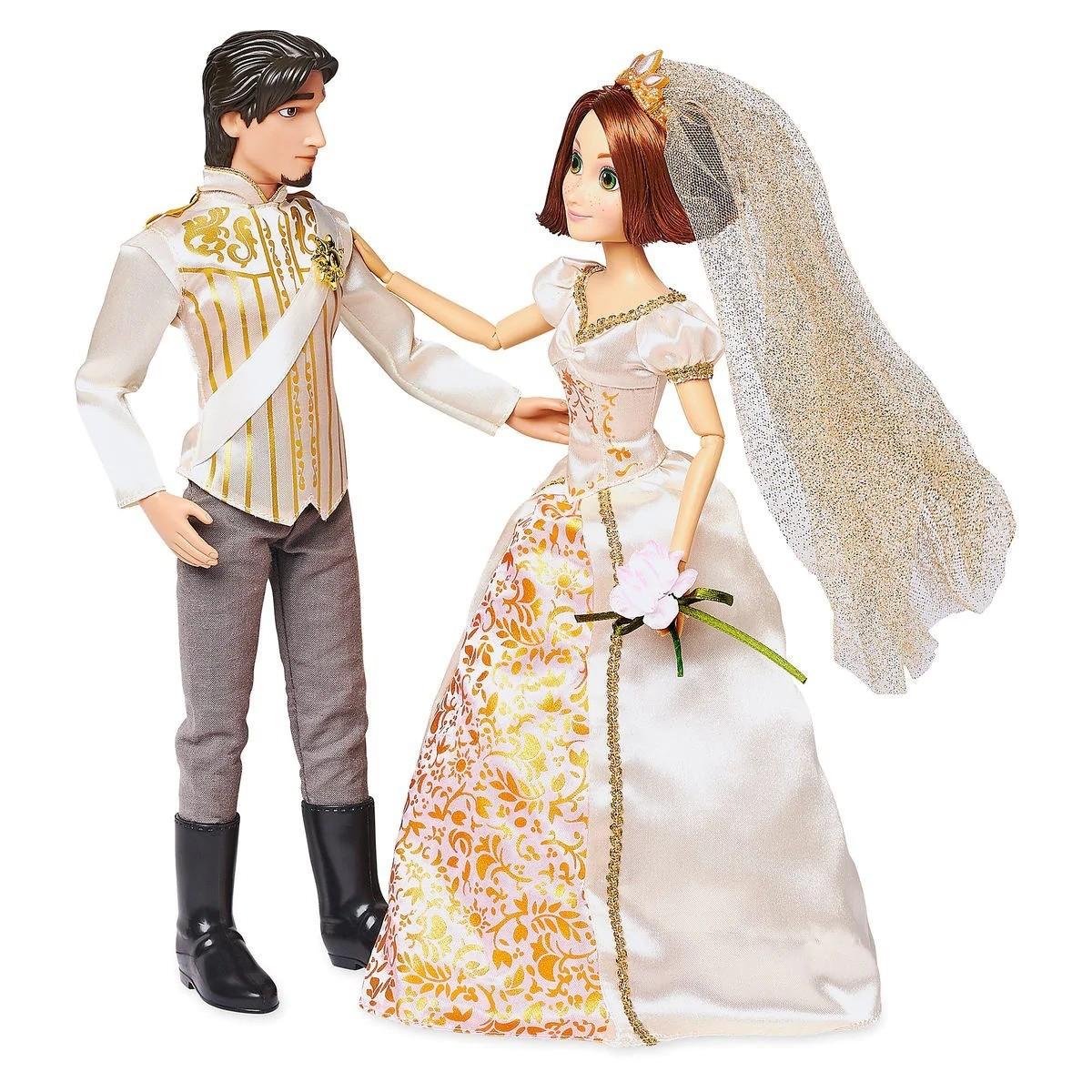 Muñeca Boda Rapunzel y Principe