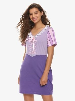 Cosplay Vestido Rapunzel