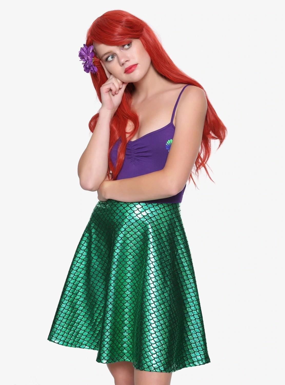 Cosplay Vestido Ariel Sirenita