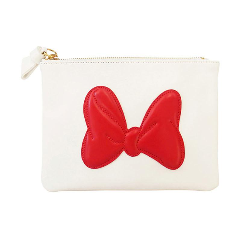 Cartera Minnie Mouse Blanco