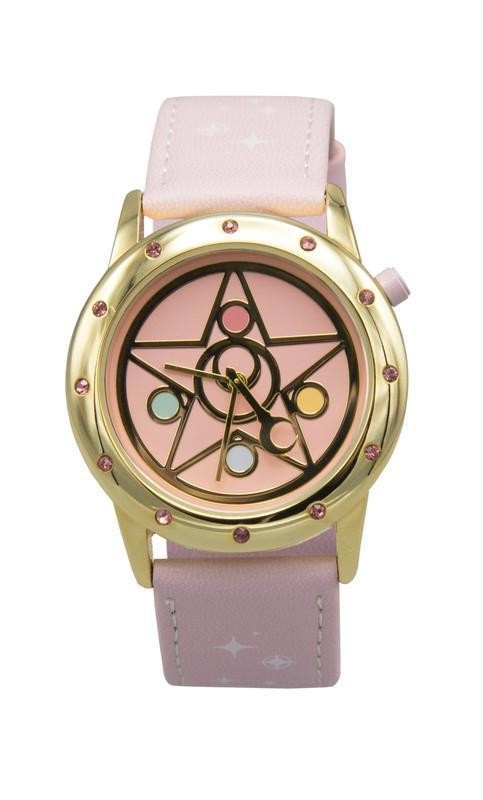 Reloj Sailor Moon Rosa Crystal