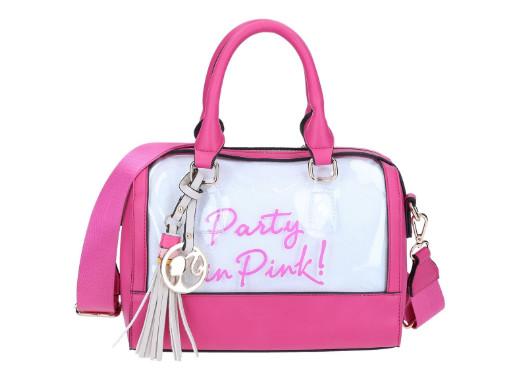 Bolsa Barbie Fiesta Rosa Negra