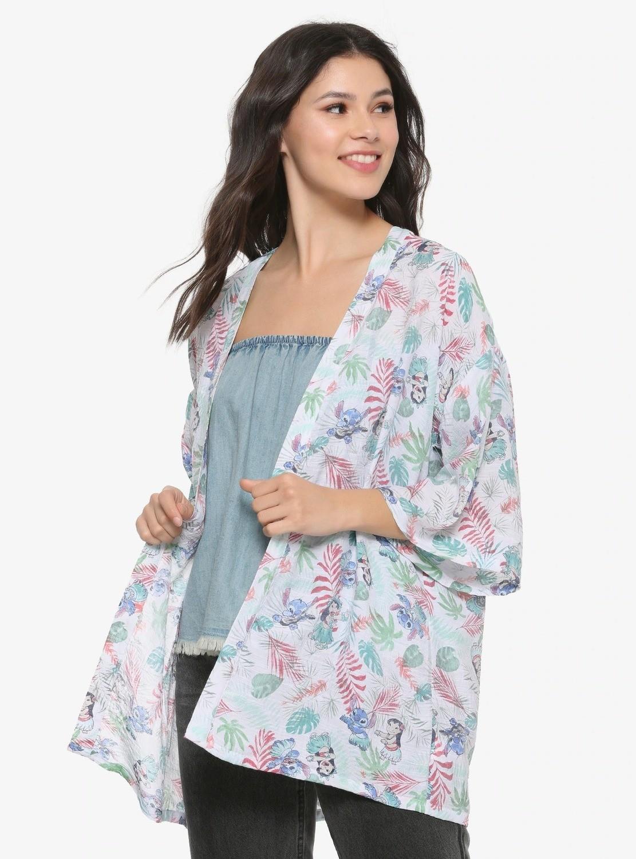Kimono Lilo & Stitch