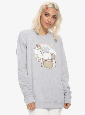 Sudadera Pusheen Unicornio Kawaii