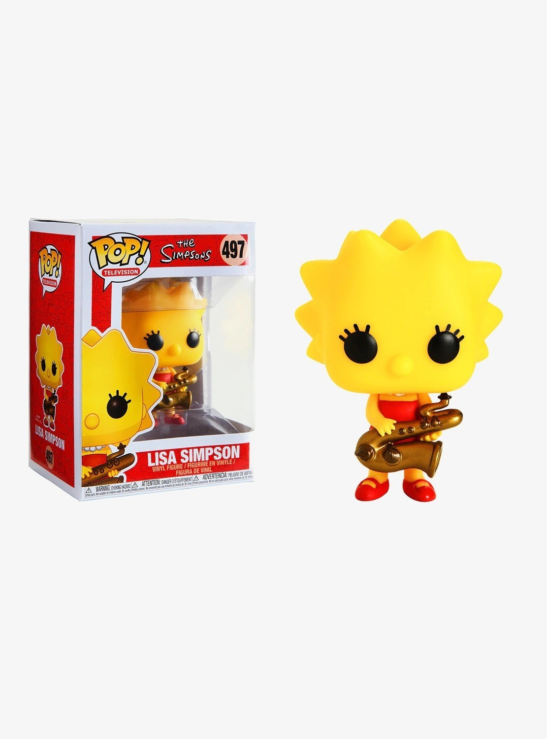 Figura POP Lisa Simpson
