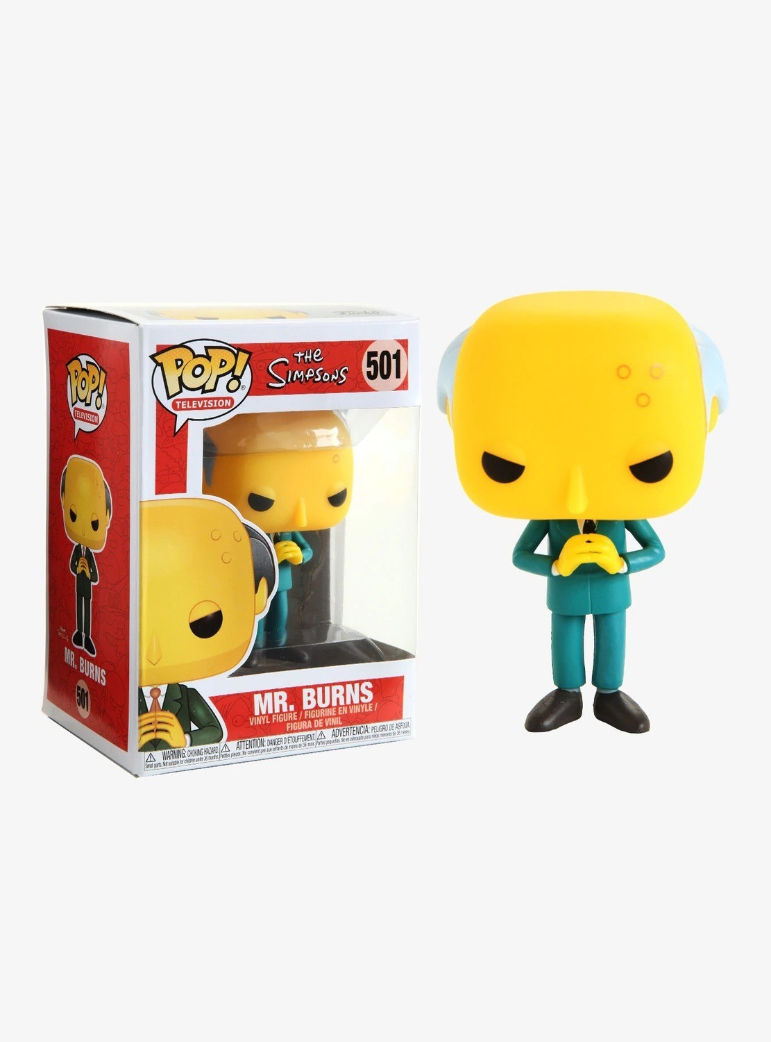 Figura POP 501 Burns