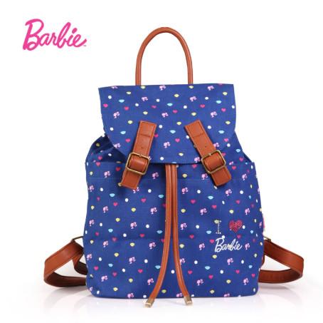 Bolsa Mochila Barbie Azul C00
