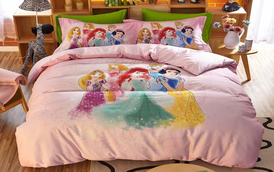 Set para Cama Princesas Disney Kawaii