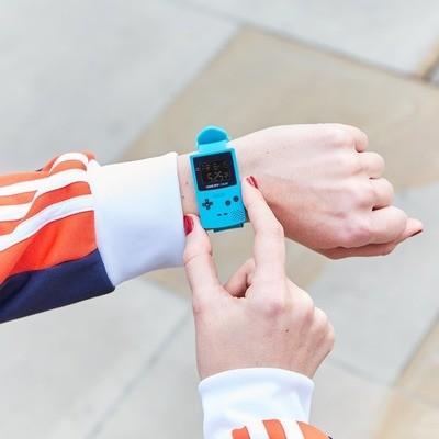 Reloj GameBoy Azul Limitado