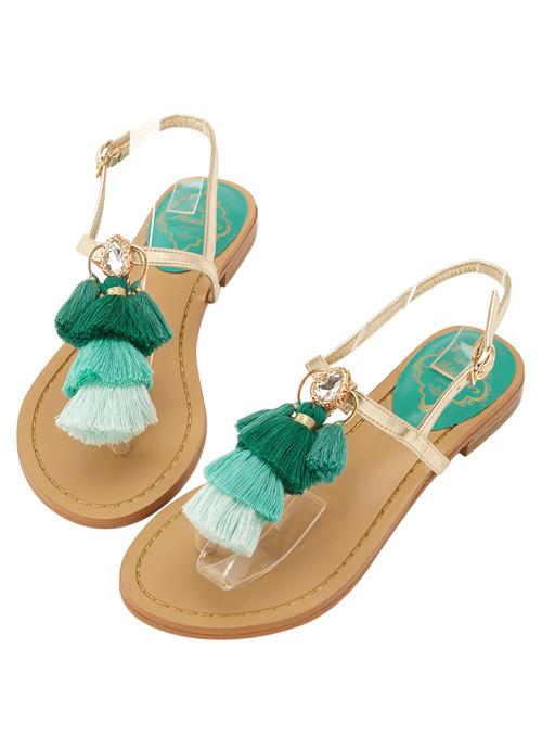 Sandalias Aladdin Jasmine Colores