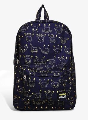 Bolsa Mochila Pikachu Negra K00