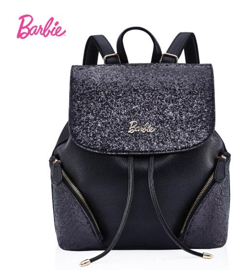 Bolsa Mochila Barbie Negra N00