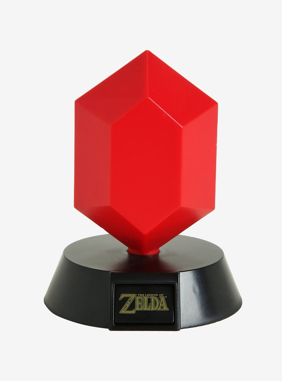 Lampara Zelda Rupee Roja