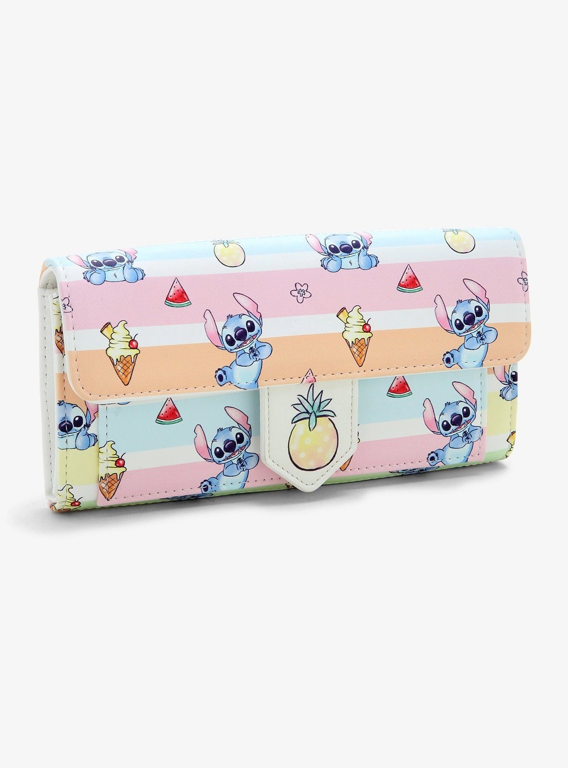 Cartera Lilo & Stitch Azul Tropical Helados