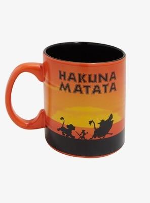 Taza Hakuna Matata Rey Leon