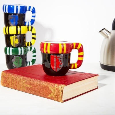 Taza Harry Potter Colores Casas