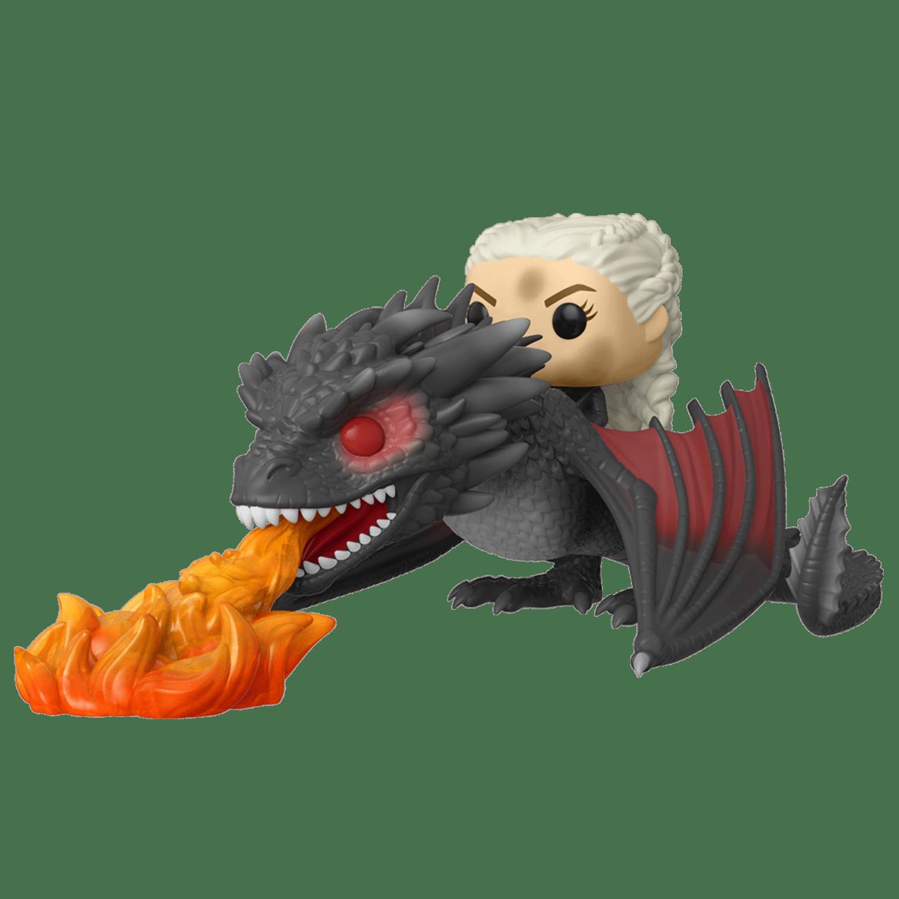 Set POP Daenerys & Drogon Dracarys