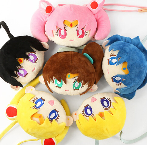 Mini Bolsitas Sailor Moon Peluche