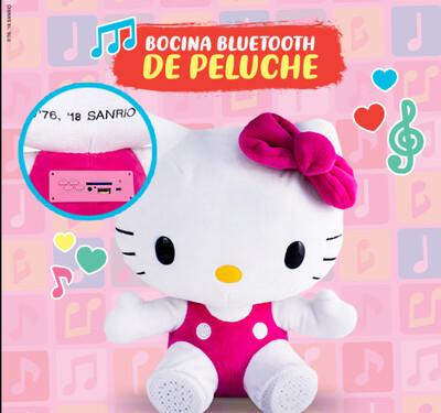 Bocinas Peluche Hello Kitty Clasicas