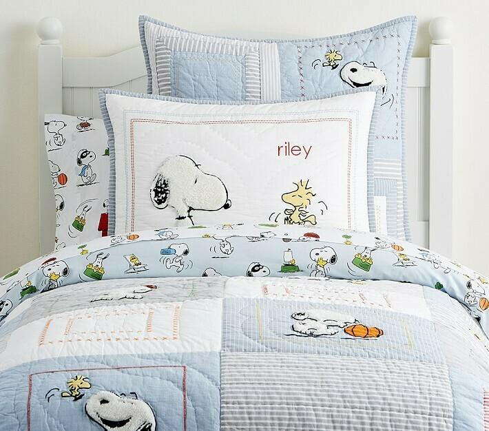 Set para Cama Snoopy Bordado
