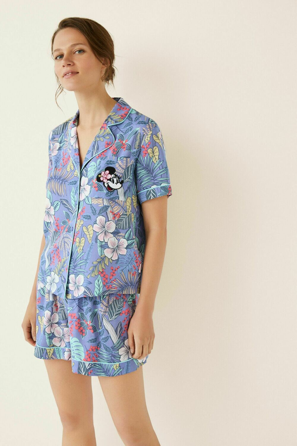 Camison Tropical Minnie Mouse