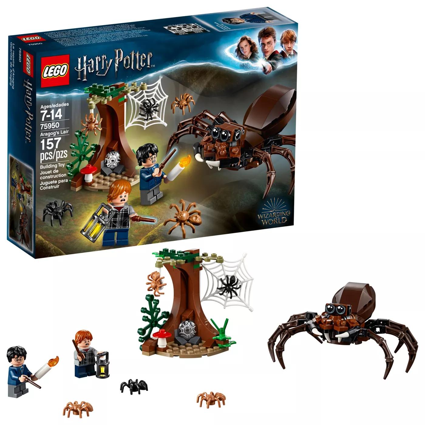Lego Harry Potter Aragog