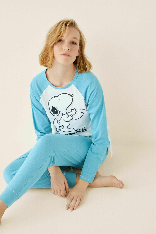 Pijama Snoopy Azul