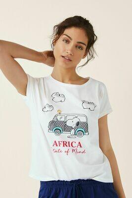 Pijama Snoopy Africa