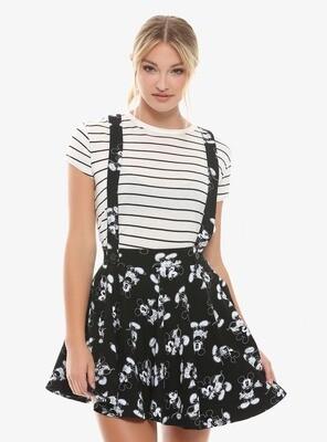 Vestido Mickey Mouse Blanco y Negro