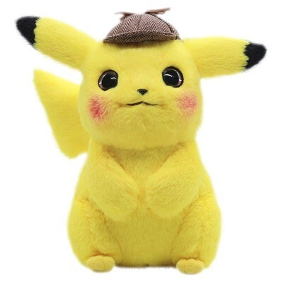 Peluche Pikachu Detective Kawaii