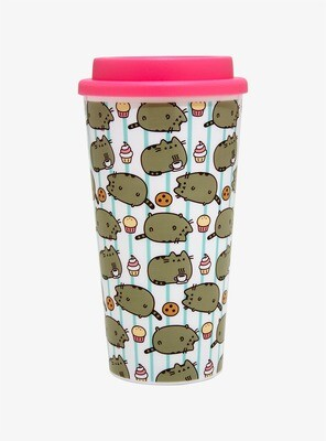 Vaso Cafe Pusheen Postres